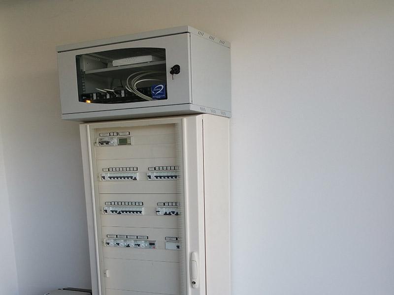 Scaglioni Impianti Elettrici - rete dati - quadro generale